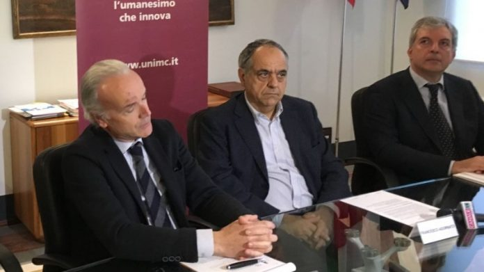 MarcoRinaldi, FrancescoAdornato e GiuseppeRivetti all'università di Macerata