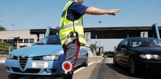 maratona di controlli sulle strade delle marche da parte della polziia stradale