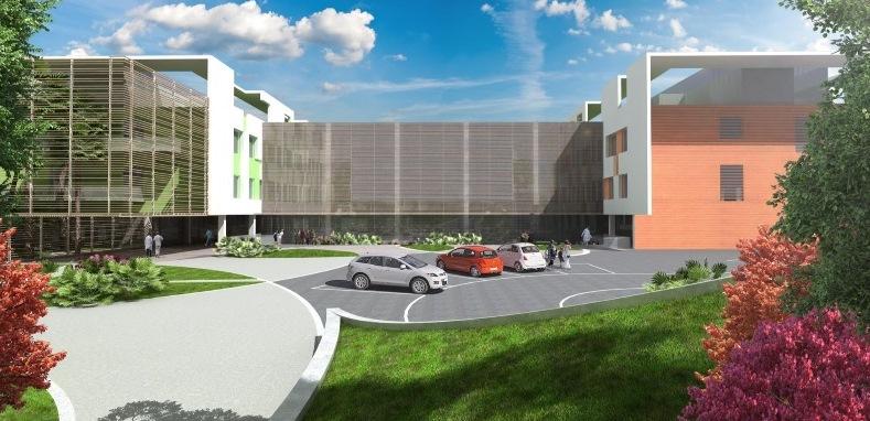 Il nuovo ospedale Salesi di Ancona